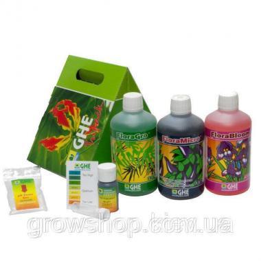 Комплект удобрений GHE Tripack Flora Series